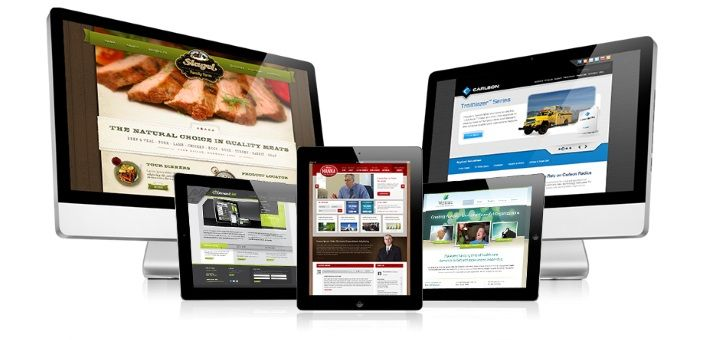 various responsive web designs